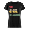 50th birthday gift 1969 the man the myth the legend men Women's classic