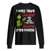 I Will Drink Sundrop Here Or There I Will Drink Sundrop Every where Unisex Sweatshirt