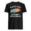 Save The Chubby Unicorns Rhino Shirt