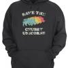 Save The Chubby Unicorns Rhino Unisex Hoodie