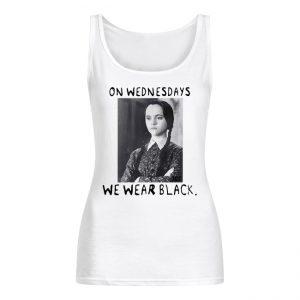 Wednesday Addams On wednesdays wWe Wear Black Women's Tank Top