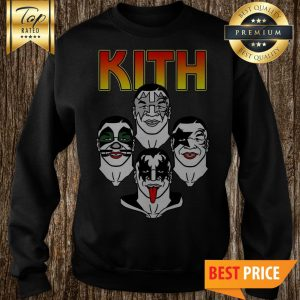 Original Kiss Kith Rock Rockin Sweatshirt
