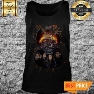 Official Black Sabbath Guitarist Signature Tank Top
