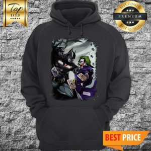 Houston Texans NFL Football Batman Fighting Joker DC Comics Halloween Hoodie