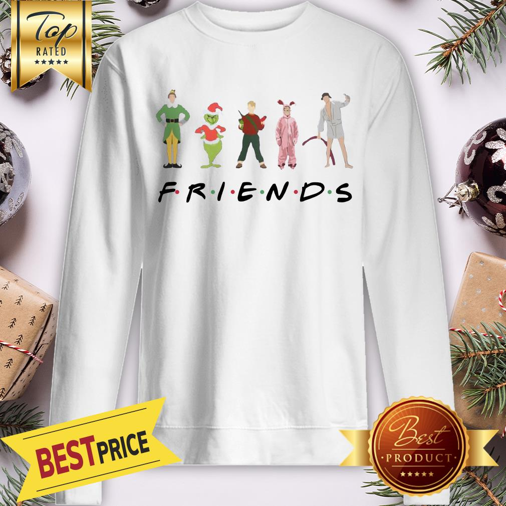 Official Christmas Grinch Kevin Friends Characters Elf Sweatshirt