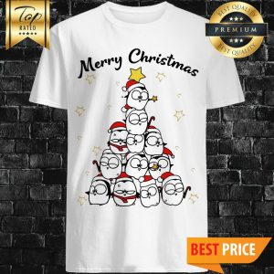 Official Penguin Merry Christmas Tree Shirt