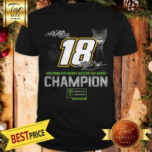 Premium Joe Gibbs Racing 2019 Monster Energy Nascar Cup Series Champion Chirtmas Shirt