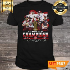 Washington Nationals 2019 World Series Champions Signature Shirt