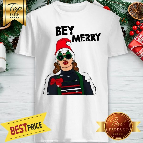 Nice Beyonce Bey Merry Christmas Shirt