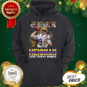 Official Joe Burrow Heisman 2019 Trophy Winner Shirt