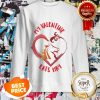 Official My Valentine Horse Eats Hay Sweatshirt