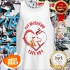 Official My Valentine Horse Eats Hay Tank Top