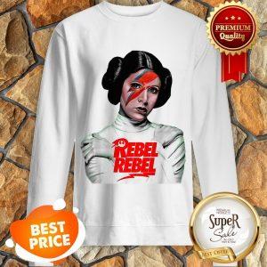 Nice Star Wars Princess Leia Rebel Rebel Sweatshirt