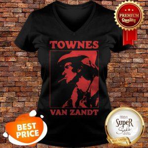 Official Townes Van Zandt V-neck