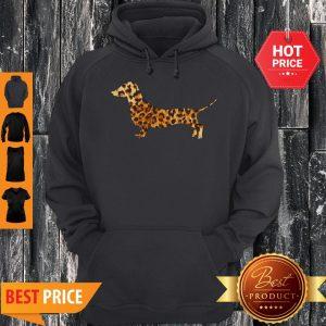 Cute Dachshund Leopard Hoodie
