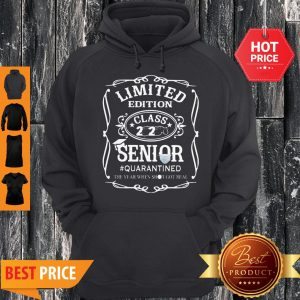 Nice Limited Edition Class 2020 Senior Quarantined Jack Daniel's Hoodie