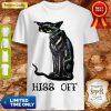 Nice Black Cat Covid Hiss Shirt