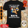 Strong Woman Face Mask I Can't Stay At Home I Work At Napa We Fight When Others Can't Shirt
