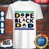 Funny Dope Black Dad V-neck
