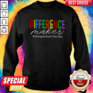LGBT Difference Maker #occupational Therapy Sweatshirt