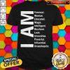 Nice I Am Feminist Woman Educated Magic Intelligent Shirt