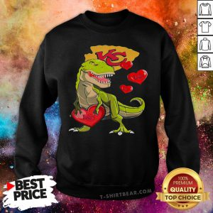Funny Dinosaur T-Rex Mashup Kansas City Chiefs Sweatshirt - Design By T-shirtbear.com