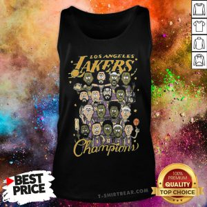 Good Los Angeles Lakers Team NBA Champions 2020 Tank Top - Design By T-shirtbear.com