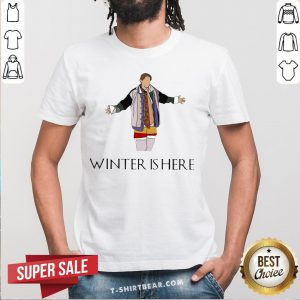 Hot Friends Tv Show Winter Is Here Shirt - Design By T-shirtbear.com