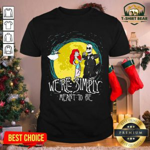 The Nightmare Before Homer Simpson And Marge Simpson We're Simply Meant To Be Shirt - Design by T-shirtbear.com