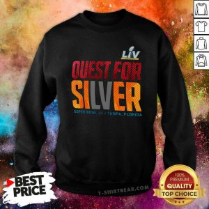 Confused Super Bowl LV 55 Nike Quest For Silver Sweatshirt - Design by T-shirtbear.com