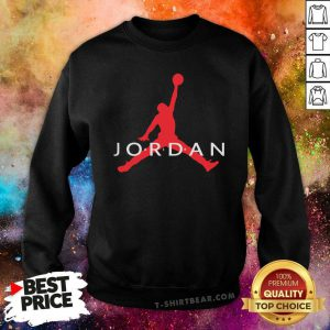 Air Jordan Big 9 Logo Sweatshirt - Design by T-shirtbear.com