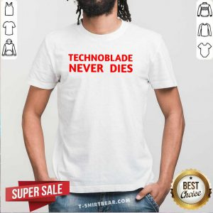 Technoblade 4 Never Dies Shirt - Design by T-shirtbear.com