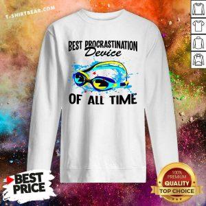 Best Procrastination Device Of All Time Sweatshirt - Design by T-shirtbear.com