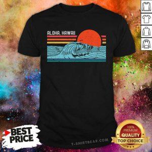 Aloha Beaches Vintage Retro Shirt - Design by T-shirtbear.com